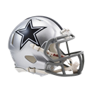 Dallas Cowboys Mini Speed Helmet