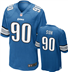 Detroit Lions - N. Suh #90 Home Jersey