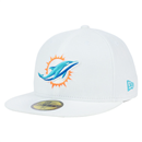Miami Dolphins - On Field Cap 5950 WH