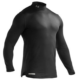 Under Armour 1215483 EVO ColdGear Fitted LS Mock