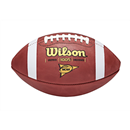 Wilson WTF1005 NCAA Game Ball - 5 Pack.